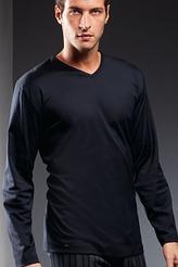 Shirt, langarm von Mey Herrenwäsche aus der Serie Lounge