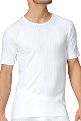 T-Shirt, Rundhalsausschnitt von Calida aus der Serie Pure & Striped