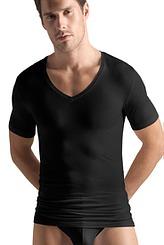 Shirt, V-Ausschnitt von Hanro aus der Serie Cotton Superior