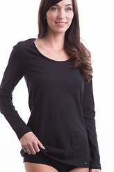 Shirt, langarm Rundhals von Skiny
