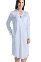 Nachthemd, langarm von Hanro aus der Serie Cotton Deluxe
