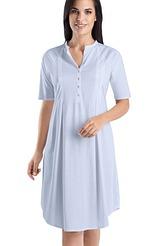 Nachthemd 1/2 Arm, Knopfleiste von Hanro aus der Serie Cotton Deluxe
