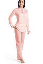 Pyjama, lang von Hanro aus der Serie Cotton Deluxe