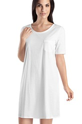 Nachthemd, kurzarm von Hanro aus der Serie Cotton Deluxe