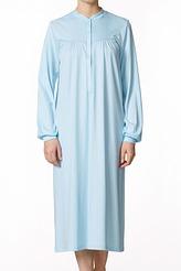 Langarm-Nachthemd mit Knopfleiste von Calida