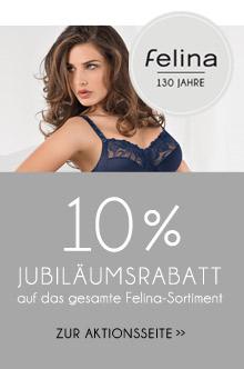 10% Rabatt auf Felina Artikel