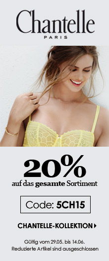 20% Rabatt auf Chantelle Dessous