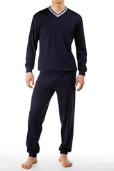 Pyjama lang, Bündchen von Calida aus der Serie Chill Out