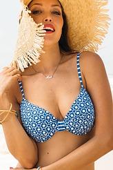 Bikini-Oberteil Paulina Dots von Rosa Faia