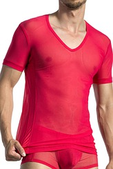 T-Shirt, V-Ausschnitt von Olaf Benz
