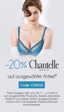 20% Rabatt auf ausgew�hlte Artikel von Chantelle