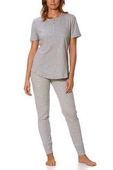Pyjama, kurze Ärmel von Mey Damenwäsche aus der Serie Hanni