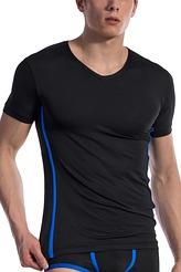 T-Shirt, V-Neck regular von Olaf Benz aus der Serie Red 1604