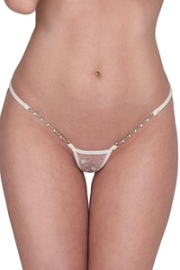 Ivory Pearl Luxury Micro String von Lucky Cheeks> Ivory Pearl Luxury Micro String
