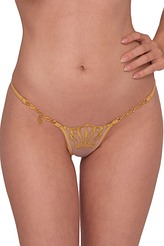 Queen of Love Luxury String Gold von Lucky Cheeks