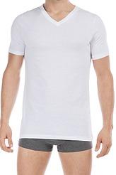 T-Shirt V Neck, TWO COTTON, 2er-Pack von HOM