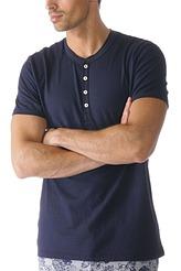 T-Shirt, Knopfleiste von Mey Herrenwäsche aus der Serie Lounge