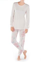 Pyjama mit Bündchen von Calida