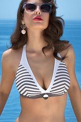 Triangel-Bikini-Oberteil mit Bügel von Lise Charmel