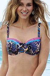 Bikini-Oberteil, Halbschale Fitting von Antigel