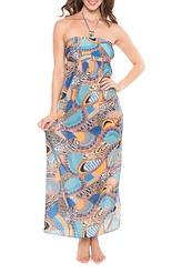 Kleid lang von Antigel aus der Serie La Bomba Africa