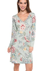 Dana berry bird Nightdress long sleeve von Pip Studio