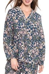 Hemdbluse kurz von Antigel aus der Serie Fleur de Cachemire
