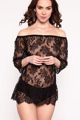 Shirt mit Carmen-Ausschnitt von Escora aus der Serie Inessa