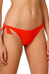 Bikini-Hüftslip mit Schnüren von Marie Jo