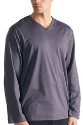 Shirt langarm von Mey Herrenwäsche aus der Serie Black Classic Night