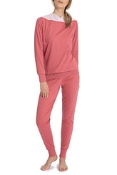 Pyjama lang von Calida aus der Serie Soft Cotton
