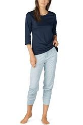Pyjama 7/8, 3/4-Ärmel von Mey Damenwäsche aus der Serie Sonja