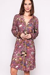 Laka Xess Nightdress long sleeve von ESSENZA aus der Serie Nightwear 2018