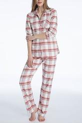 Pyjama, Flanell von Calida aus der Serie Rubina