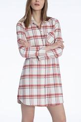 Sleepshirt, Flanell von Calida aus der Serie Rubina
