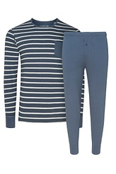 Pyjama lang Nautical Stripe von Jockey aus der Serie Nightwear Cotton