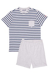 Pyjama kurz Nautical Stripe von Jockey aus der Serie Nightwear Cotton
