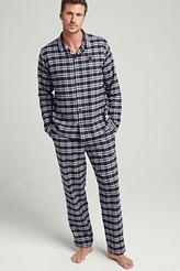 Pyjama lang Flanell Urban Landscapes von Jockey