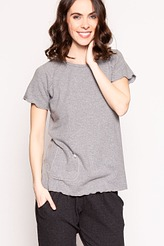 Shirt, kurzarm von Gattina