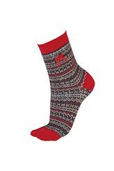 Fairisle Socks von PrettyPolly aus der Serie Christmas