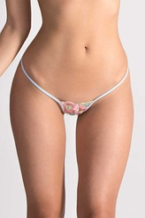 Blooming Sky Sexy String von Lucky Cheeks