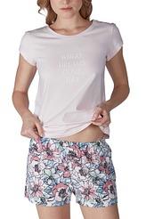 Pyjama kurz Nostalgic Summer von Skiny aus der Serie Nightwear Fashion