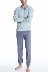 Pyjama mit Bündchen Relax Streamline 2 von Calida