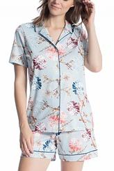 Pyjama kurz durchgeknöpft von Calida